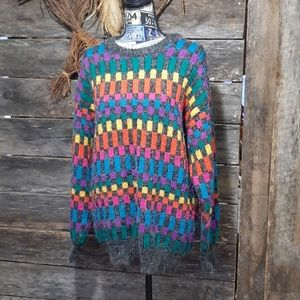 Vintage messages oversized sweater!!